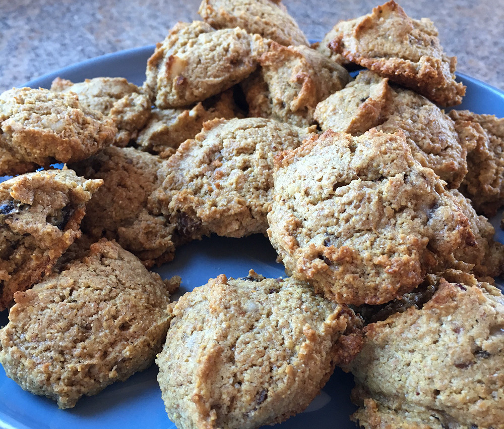 Cornmeal Banana Cookies