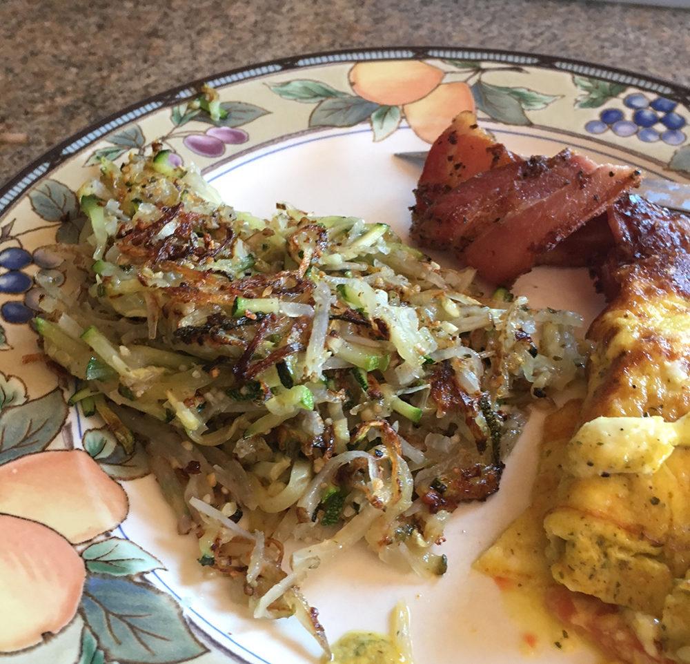 Zucchini Hash Browns